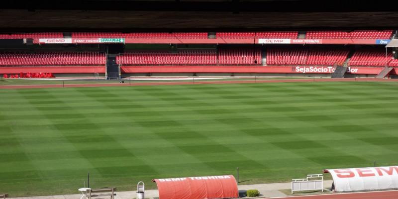 SÃO PAULO FUTEBOL CLUBE - Estadio do Morumbí